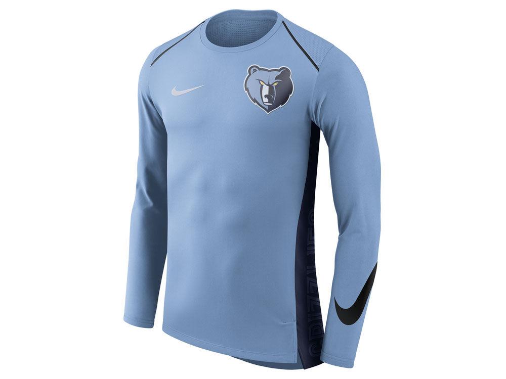 Memphis Grizzlies Nike NBA Men s Hyperlite Long Sleeve Shooter T-shirt  0790b2e19