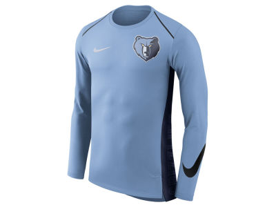 Memphis Grizzlies Nike NBA Men's Hyperlite Long Sleeve Shooter T-shirt