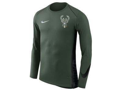 Milwaukee Bucks Nike NBA Men's Hyperlite Long Sleeve Shooter T-shirt