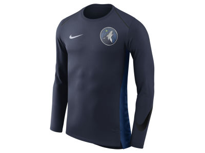 Minnesota Timberwolves Nike NBA Men's Hyperlite Long Sleeve Shooter T-shirt