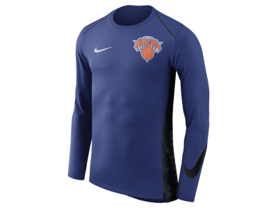 New York Knicks Nike NBA Men's Hyperlite Long Sleeve Shooter T-shirt
