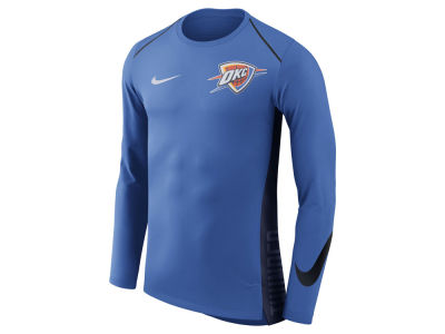Oklahoma City Thunder Nike NBA Men's Hyperlite Long Sleeve Shooter T-shirt
