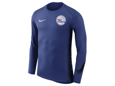Philadelphia 76ers Nike NBA Men's Hyperlite Long Sleeve Shooter T-shirt
