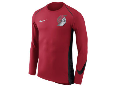 Portland Trail Blazers Nike NBA Men's Hyperlite Long Sleeve Shooter T-shirt