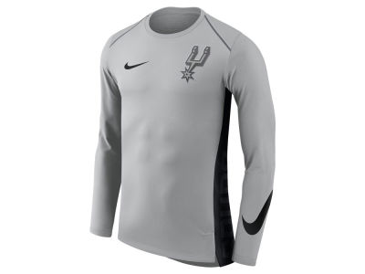 San Antonio Spurs Nike NBA Men's Hyperlite Long Sleeve Shooter T-shirt