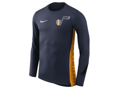 Utah Jazz Nike NBA Men's Hyperlite Long Sleeve Shooter T-shirt