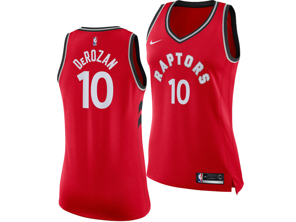 Toronto Raptors Demar Derozan Nike NBA Women s Icon Swingman Player Jersey   4ed5ce348