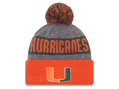 Miami Hurricanes New Era 2017 NCAA Sport Knit