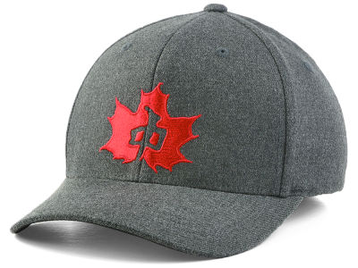 Red Dragon Skate Real Leaf Flex Cap