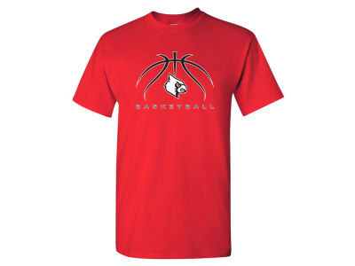 Louisville Cardinals NCAA 2 for $28 2 for $25 NCAA Men's Spider Basketball T-Shirt