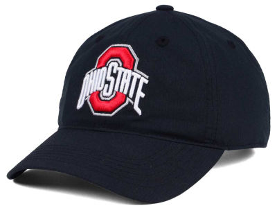 Ohio State Buckeyes J America NCAA Ripstop Poly Adjustable Cap