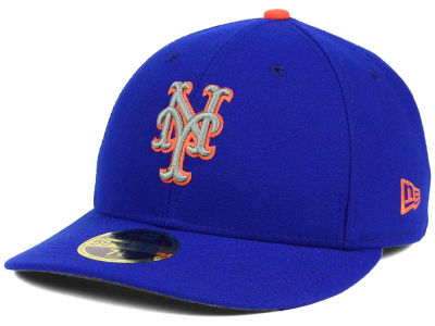 New York Mets New Era MLB Low Profile AC Performance 59FIFTY Cap