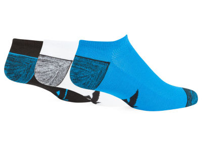 Carolina Panthers Forever Collectibles 3-pack Blade Motion No Show Socks