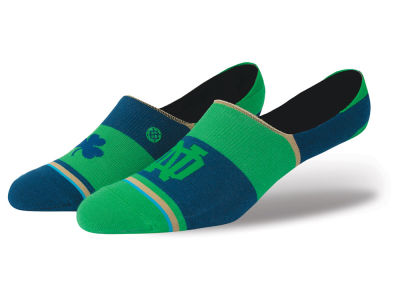 Notre Dame Fighting Irish Stance NCAA Super No Show Socks