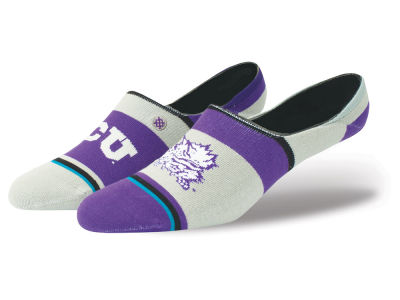 Texas Christian Horned Frogs Stance NCAA Super No Show Socks