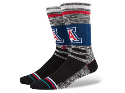 Arizona Wildcats Stance NCAA Varsity Crew Socks
