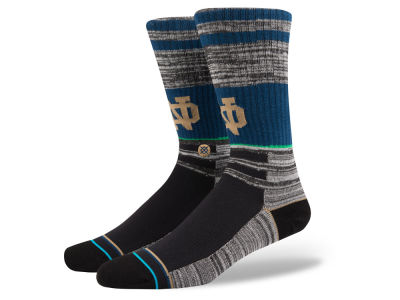 Notre Dame Fighting Irish Stance NCAA Varsity Crew Socks