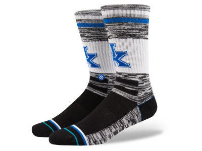 Kentucky Wildcats Stance NCAA Varsity Crew Socks