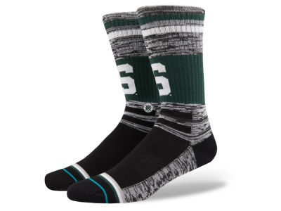 Michigan State Spartans Stance NCAA Varsity Crew Socks