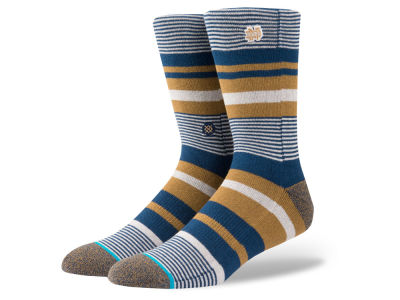 Notre Dame Fighting Irish Stance NCAA Stripe Crew Socks