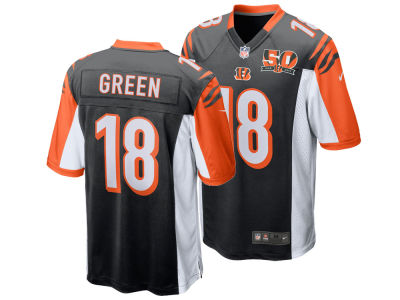 Cincinnati Bengals A. J. Green Nike NFL Men's 50th Anniversary Game Jersey