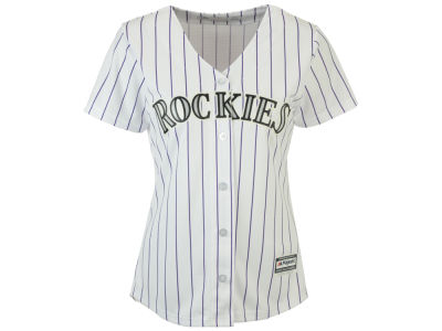 Colorado Rockies Majestic MLB Women's Cool Base Jersey