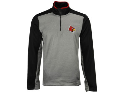 Louisville Cardinals Outerstuff NCAA Men's Top Notch Quarter Zip Pullover