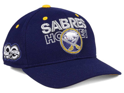 Buffalo Sabres adidas NHL 100th Celebration Structured Adjustable Cap