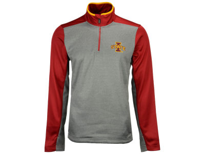 Iowa State Cyclones Outerstuff NCAA Men's Top Notch Quarter Zip Pullover