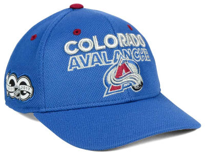 buy popular e0886 fe8d8 ... top quality colorado avalanche adidas nhl 100th celebration structured adjustable  cap c0943 cfc93