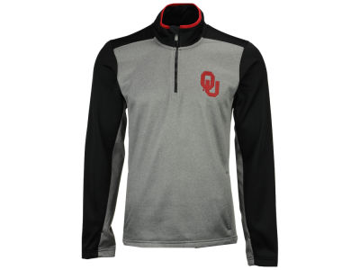 Oklahoma Sooners Outerstuff NCAA Men's Top Notch Quarter Zip Pullover
