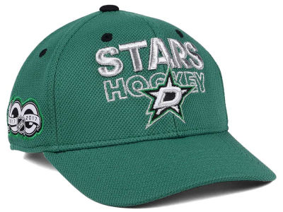 Dallas Stars adidas NHL 100th Celebration Structured Adjustable Cap