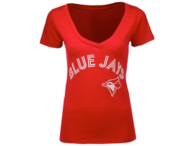 Toronto Blue Jays MLB Women's V Slub T-Shirt