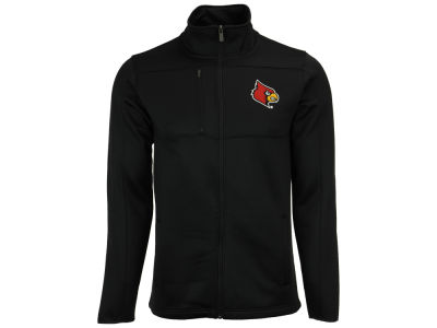 Louisville Cardinals Outerstuff NCAA Men's Superior Bonded Fleece Full Zip Jacket