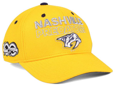 Nashville Predators adidas NHL 100th Celebration Structured Adjustable Cap