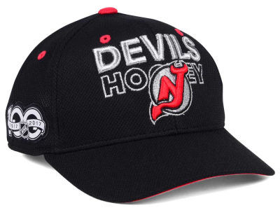 New Jersey Devils adidas NHL 100th Celebration Structured Adjustable Cap