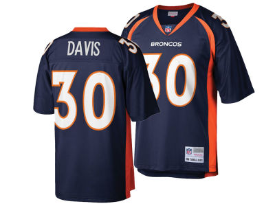 Denver Broncos Terrell Davis Mitchell & Ness NFL Replica Throwback Jersey
