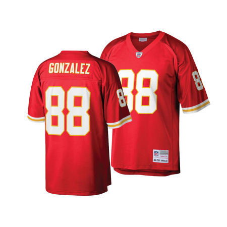 Kansas City Chiefs Tony Gonzalez Mitchell & Ness NFL Replica Throwback Jersey