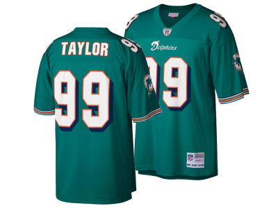 Miami Dolphins Jason Taylor Mitchell & Ness NFL Replica Throwback Jersey