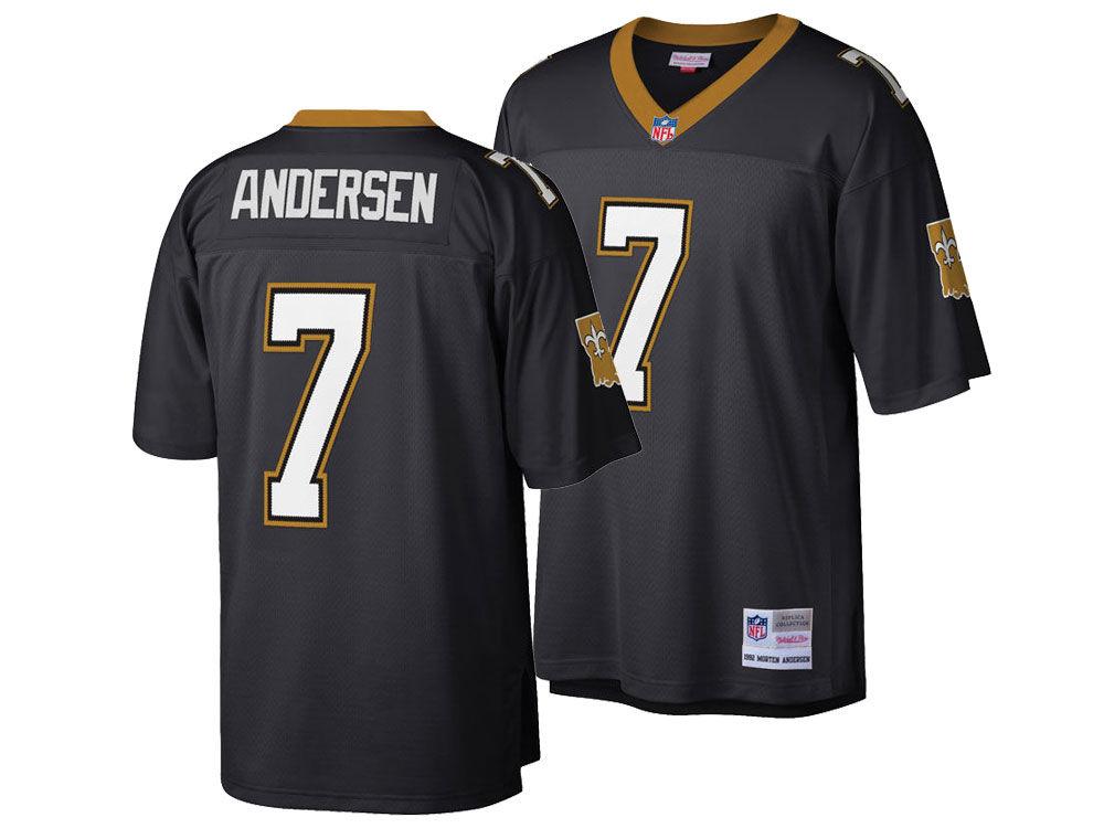 New Orleans Saints Morten Andersen Mitchell   Ness NFL Replica Throwback  Jersey  609e2cb91