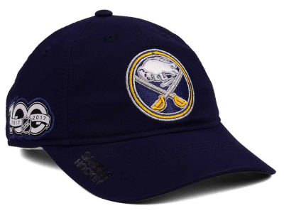 Buffalo Sabres adidas NHL 100th Celebration Relaxed Adjustable Cap