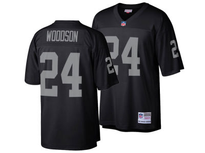 Oakland Raiders Charles Woodson Mitchell & Ness NFL Replica Throwback Jersey