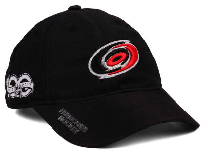 Carolina Hurricanes adidas NHL 100th Celebration Relaxed Adjustable Cap
