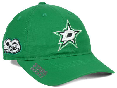Dallas Stars adidas NHL 100th Celebration Relaxed Adjustable Cap