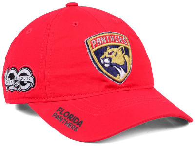 Florida Panthers adidas NHL 100th Celebration Relaxed Adjustable Cap