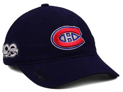 Montreal Canadiens adidas NHL 100th Celebration Relaxed Adjustable Cap