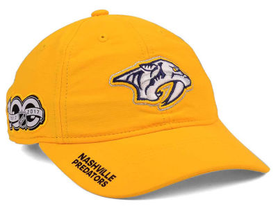 Nashville Predators adidas NHL 100th Celebration Relaxed Adjustable Cap