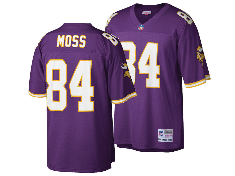 460b5be9d Minnesota Vikings Randy Moss Mitchell   Ness NFL Replica Throwback Jersey