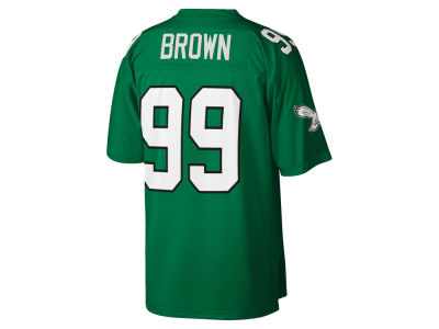 Philadelphia Eagles Jerome Brown Mitchell & Ness NFL Replica Throwback Jersey