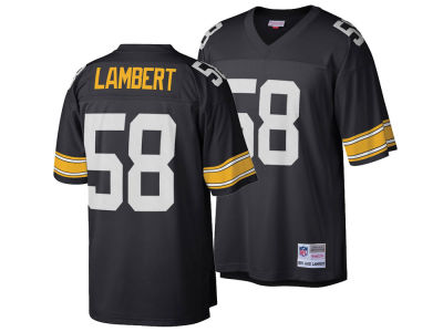 Pittsburgh Steelers Jack Lambert Mitchell & Ness NFL Replica Throwback Jersey